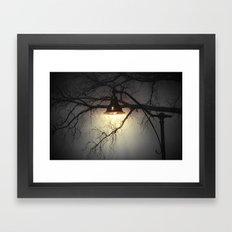 A Light Along The Way Framed Art Print