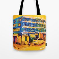 blue house (hong kong) Tote Bag