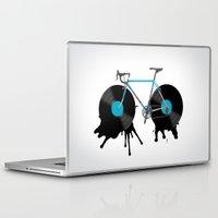 music Laptop & iPad Skins featuring music  by mark ashkenazi