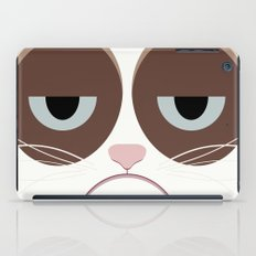 Grumpy Chubby Cat iPad Case