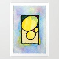 Pedras Art Print