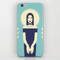 Phaedra Blue iPhone & iPod Skin