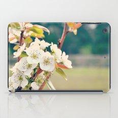 Pear Blossoms iPad Case