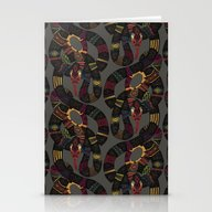 Geo Snakes Lead Stationery Cards