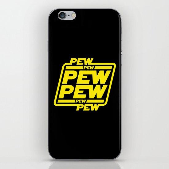 Pew Pew Pew iPhone & iPod Skin