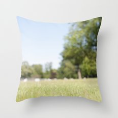 Another Sunny Day Throw Pillow