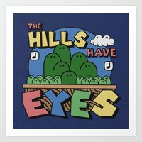 The Hills Have Eyes Art Print