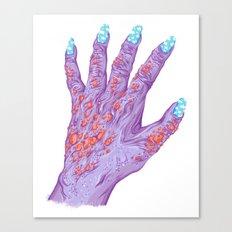 Cloud Nails Canvas Print