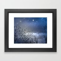 Star Dust Framed Art Print