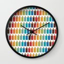 Colors #1 Wall Clock