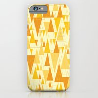 iPhone & iPod Case featuring Love Triangle 1 by Manuela