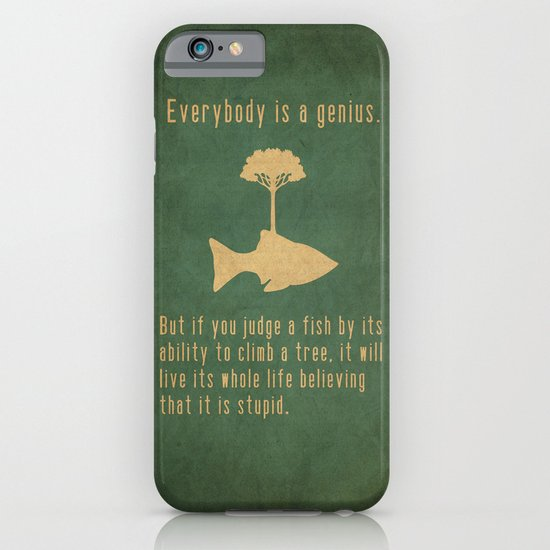 Einstein iPhone & iPod Case