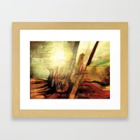 Enough Conflict Framed Art Print