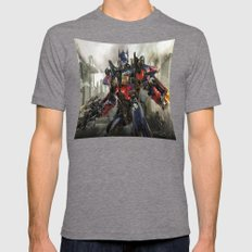 Transformers  , Transformers  games, Transformers  blanket, Transformers  duvet cover,  Mens Fitted Tee Tri-Grey SMALL