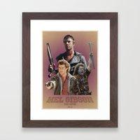 Mel Gibson The Movie Framed Art Print