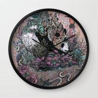 Land Of The Sleeping Gia… Wall Clock