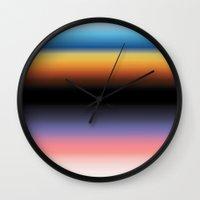 The Skys Colour Wall Clock