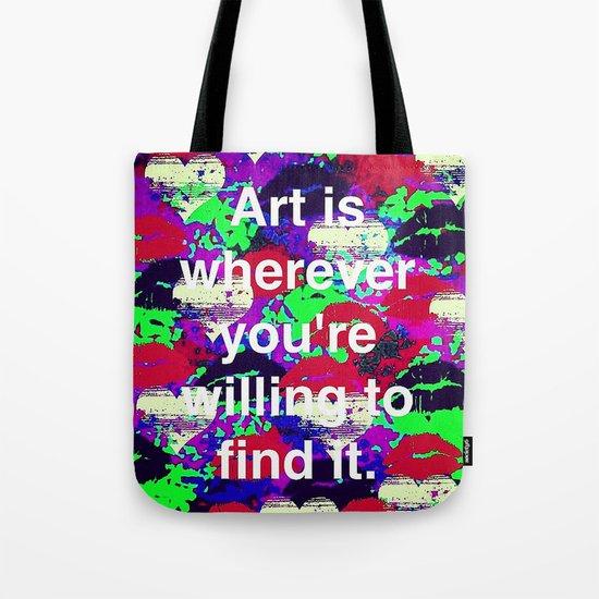 Art is... Tote Bag