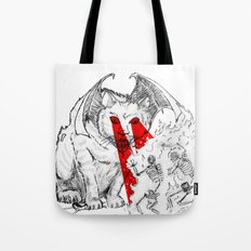 Lethal Optical Lasers Cat Tote Bag