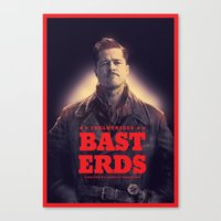 Inglourious Basterds Poster Canvas Print