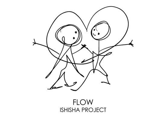 FLOW by ISHISHA PROJECT Canvas Print