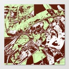 Science Virus Canvas Print