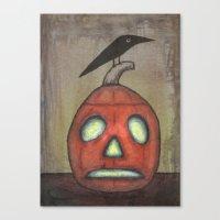 Spooky  Canvas Print