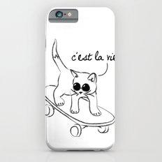 CARELESS CAT - C'EST LA VIE iPhone 6s Slim Case