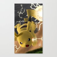 Canvas Print featuring Electro Ball! by DsgnrTyler