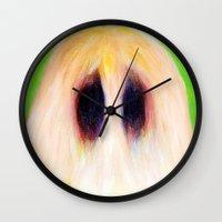 Easter Sasquatch Wall Clock
