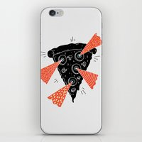 Lazer Pizza iPhone & iPod Skin