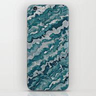 Light Blue Pattern  iPhone & iPod Skin