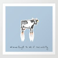 And No-one Thought To As… Art Print
