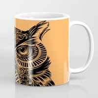 Warrior Owl 2 Mug