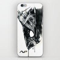 Alien Head Side iPhone & iPod Skin