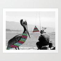 Sailor's Yarn Art Print
