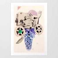 hazy pellicle Art Print