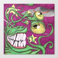Invasion Phreak Canvas Print