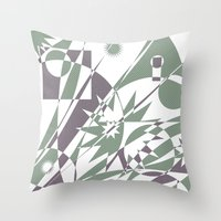The Summit Afterglow Throw Pillow