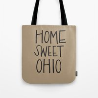 Home Sweet Ohio Tote Bag