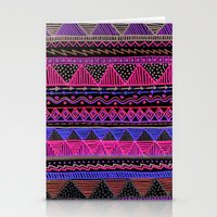 Ocean T Neon Stationery Cards