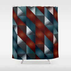Pattern #5 Tiles Shower Curtain
