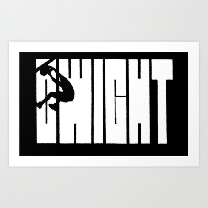 dwight howards quotshaqquot logo art print by ryan braun society6