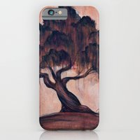 iPhone & iPod Case featuring Sunrise Oak by Christa Rosenkranz