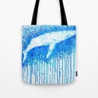 Solitude Whale Tote Bag