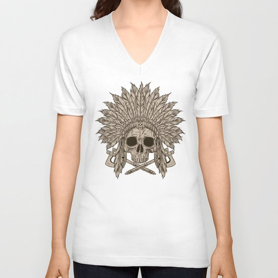 The Dead Chief V-neck T-shirt