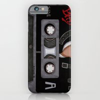 iPhone & iPod Case featuring Bad-The Tape by KNIfe