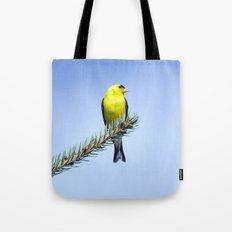 Bird's Eye Blue (America… Tote Bag