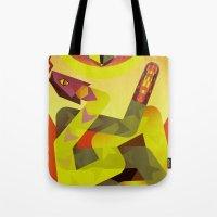 Rattlesnakes Tote Bag