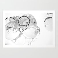 Bubbles 1 Art Print